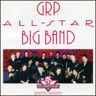 CD jacket for 'GRP All-Star Big Band'.
