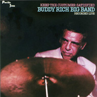 CD Cover - Buddy Rich, Keep the Customer Satisfied.