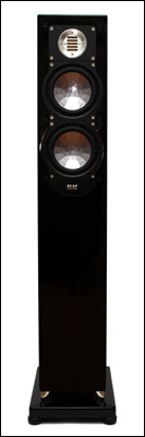 Full front view of an ELAC FS 247 speaker.
