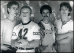 Level 42, photo of band members.